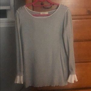 Ann Taylor Loft stripped top